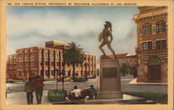 The Trojan Statue, University of Southern California at Los Anglees