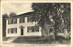 University of New Hampshire - Alpha Kappa Pi House