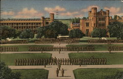 Cadets on Parade, New Mexico Military Institute