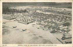 Aerial View of Savannah Air Base