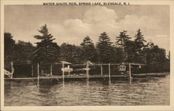 Water Shute Pier at Spring Lake