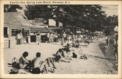 Carrie's Spa, Spring Lake Beach
