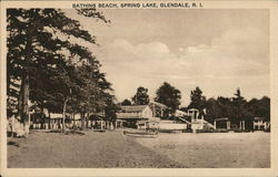 Bathing Beach on Spring Lake