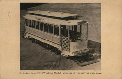Cable Car, 1897 (Working Model)