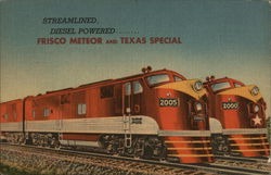 Frisco Meteor and Texas Special