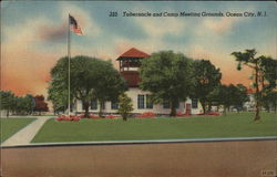 Tabernacle and Camp Meeting Grounds Postcard