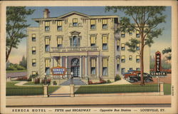 Seneca Hotel - Fifth and Broadway - Opposite Bus Station