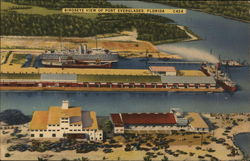 Birdseye View of Port Everglades, Florida