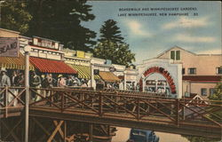 Boardwalk and Winnipesaukee Gardens