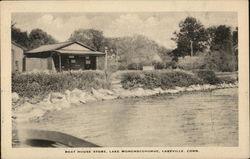 Boat House Store, Lake Wononscopomuc