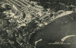 Aerial View Lake Compounce