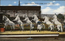 Mounted Patrol White Horses