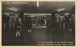 Chicago Subway - Mezzanine Station