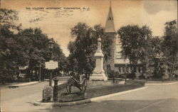 The Soldiers Monument Postcard