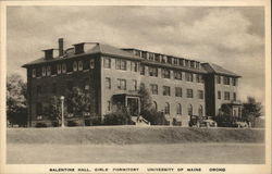Balentine Hall, Girls' Dormitory-University of Maine