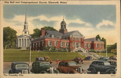 City Hall and Congregational Church