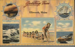 Greetings From Ellsworth, Maine
