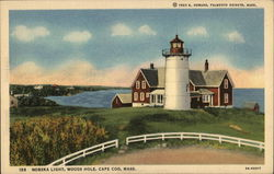 Nobska Light, Woods Hole Postcard
