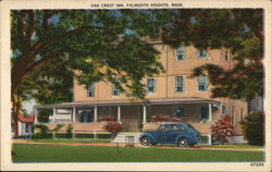 Oak Crest Inn Postcard