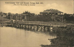 York Country Club and Sewells Bridge built 1651