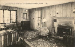 Interior of Guest Bungalow at Lakewood