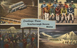 Greetings From Scarborough Downs, Maine