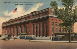 New York, New Haven and Hartford Railroad Station