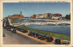 Ocean Grove and Asbury Park Bridge Across Wesley Lake