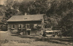 The Old Mill, Residence of Mrs. Duryea