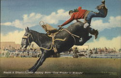 "Nesbitt & Elliott's Famous Bucking Bronco ""Five Minutes to Midnight"""