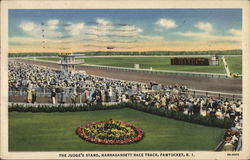 The Judge's Stand at Narragansett Race Track