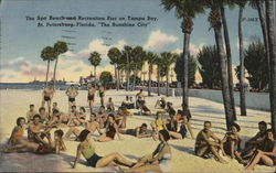 Spa Beach and Recreation Pier, Tampa Bay