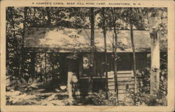 A Camper's Cabin, Bear Hill Pond Camp