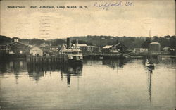 Waterfront at Port Jefferson