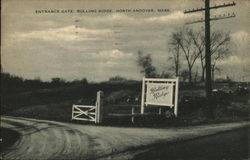Entrance Gate, Rolling Ridge Retreat