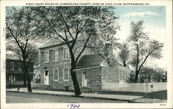 First Court House of Cumberland County, Home of Civic Club