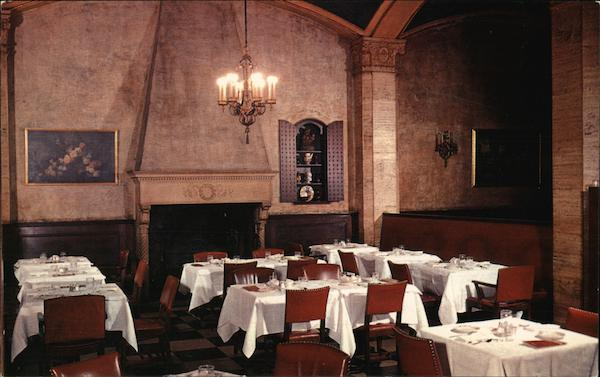 Schrafft's - Dining Room 356 Boylston Street Boston Massachusetts