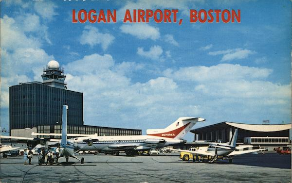 Logan Airport Boston Massachusetts Airports