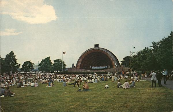 Hatch Memorial Shell Boston Massachusetts