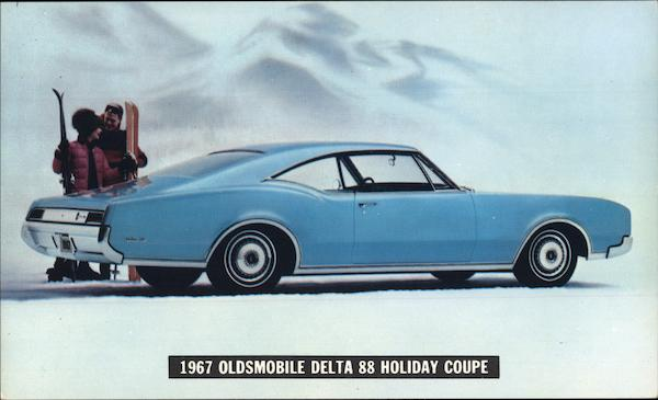 1967 Oldsmobile Delta 88 Holiday Coupe Cars