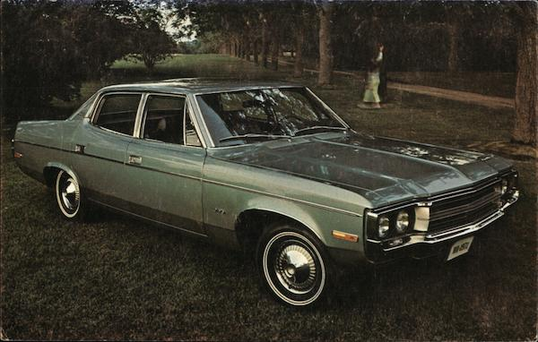 1971 Matador 4-Door Sedan - American Motors Cars