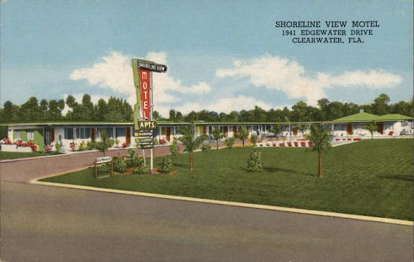 Shoreline View Motel Clearwater Florida