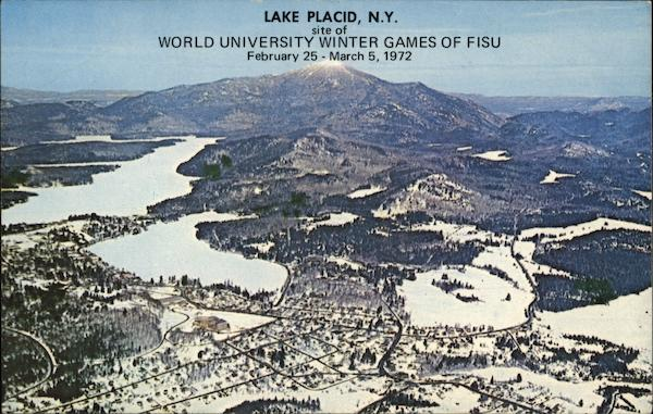 World University Winter Games of FISU Lake Placid New York