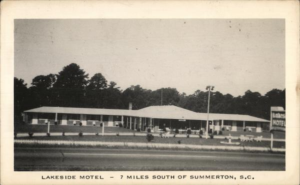 Lakeside Motel Summerton South Carolina