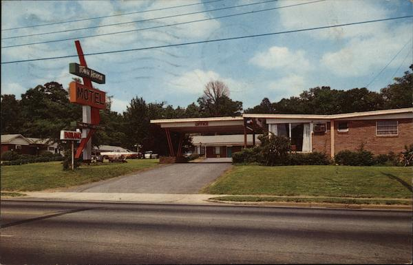 Town House Motel Greenville South Carolina