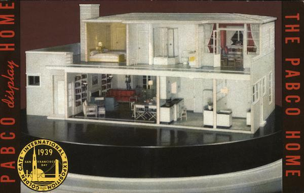 PABCO's Miniature Model Home San Francisco California