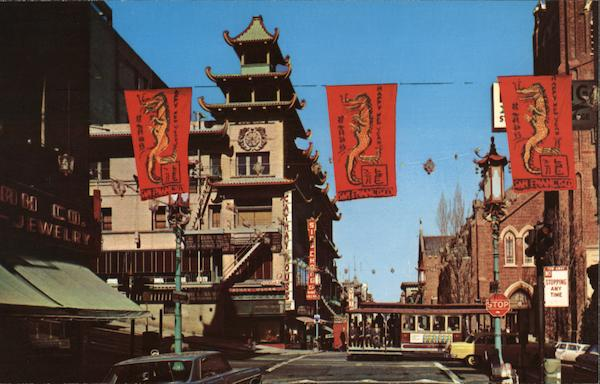 San Francisco Chinatown California