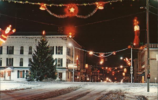 Christmas Scene, Public Square Galion Ohio Dan Ritchey