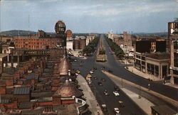 Commonwealth Avenue at Kenmore Square