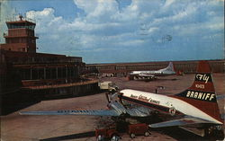 Greater Fort Worth International Airport, Amon Carter Field Postcard